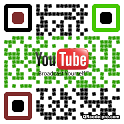 QR code with logo XKH0