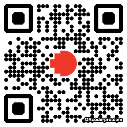 QR code with logo XL00