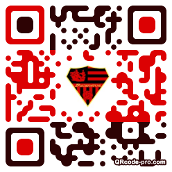 QR code with logo XP10