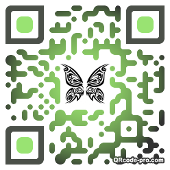 QR code with logo XR60