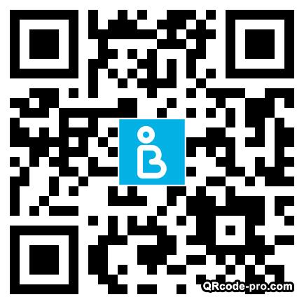 QR code with logo XVV0