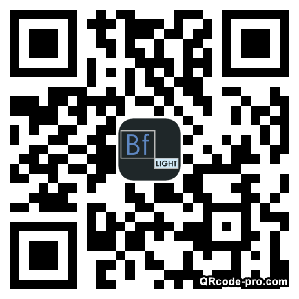 QR code with logo XXN0