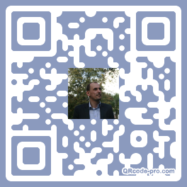 QR code with logo Xkv0