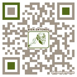 QR code with logo Y320