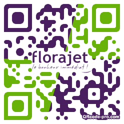 QR code with logo YE10