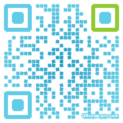 QR code with logo YHz0