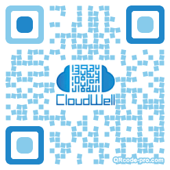 QR code with logo YIl0