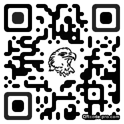 QR code with logo YNT0