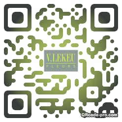 QR code with logo YR40