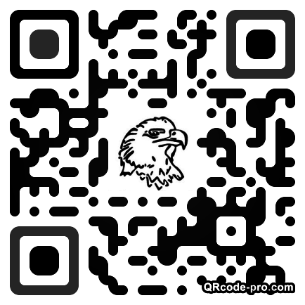 QR code with logo YWc0