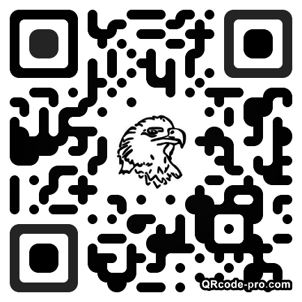QR code with logo YWi0