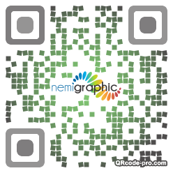 QR code with logo YcJ0
