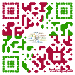 QR code with logo Yfb0