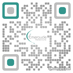 QR code with logo YhX0