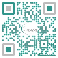 QR code with logo YhY0