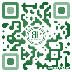 QR code with logo Ymt0