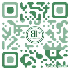 QR code with logo YpB0