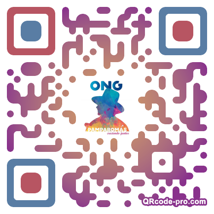 QR code with logo Ytn0