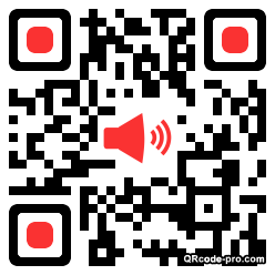 QR code with logo YuN0