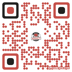 QR code with logo Yut0