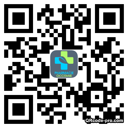 QR code with logo Yzm0
