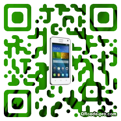 QR code with logo Z0F0