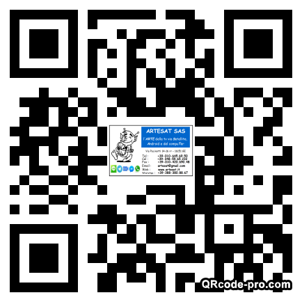 QR code with logo Z970