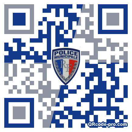 QR code with logo ZCC0