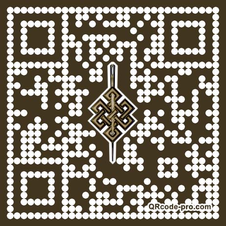 QR code with logo ZE60