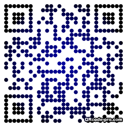 QR code with logo ZV10