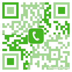 QR code with logo Zpa0