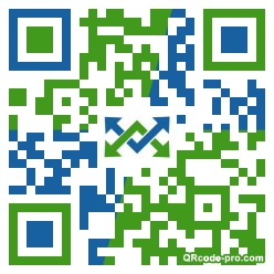 QR code with logo ZrE0