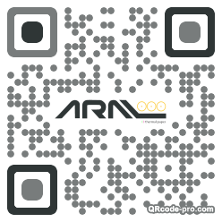 QR code with logo Zts0