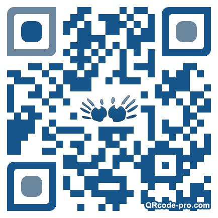 QR code with logo ZwJ0