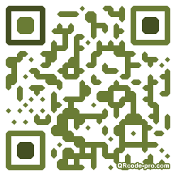 QR code with logo Zxr0