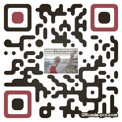QR code with logo Zyh0