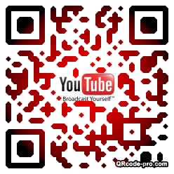 QR code with logo a1k0