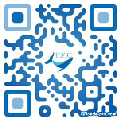 QR code with logo a5H0