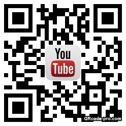 QR code with logo a7I0