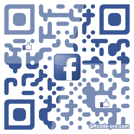 QR code with logo aEB0
