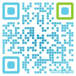 QR code with logo aJa0