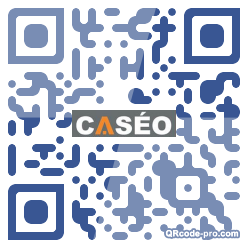 QR code with logo aNX0