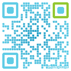 QR code with logo aOr0