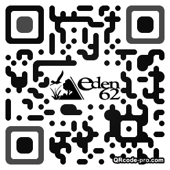 QR code with logo aXX0