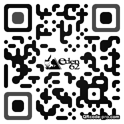 QR code with logo aXY0