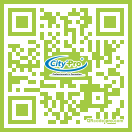 QR code with logo ab30