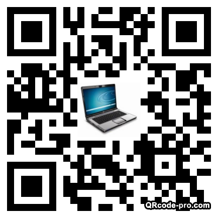 QR code with logo ajS0