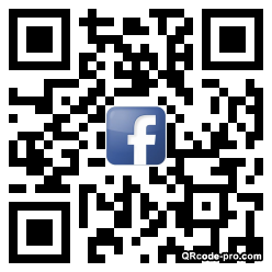 QR code with logo aof0