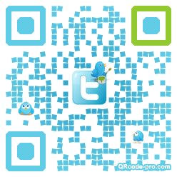 QR code with logo arL0