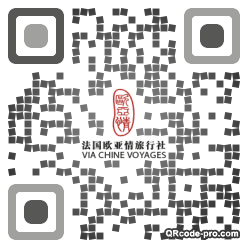 QR Code Design b2w0